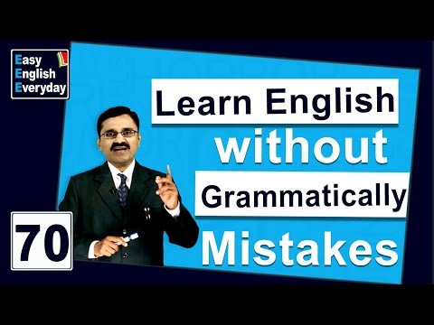 How to Learn English without grammatically Mistakes| How to use Gerunds | English writing skills