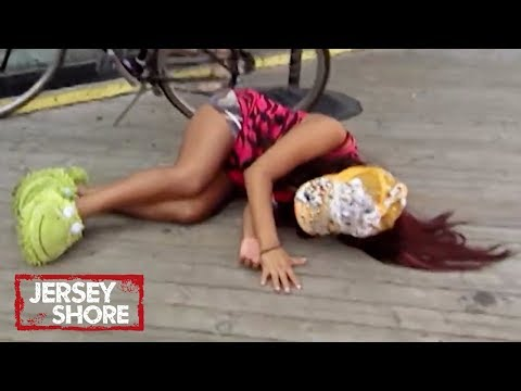 Top 19 Most Epic FALLS 🤣  In 'Jersey Shore' History | MTV Ranked