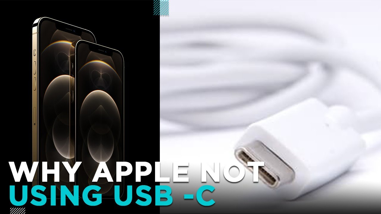 Why iPhone Don't Use USB C