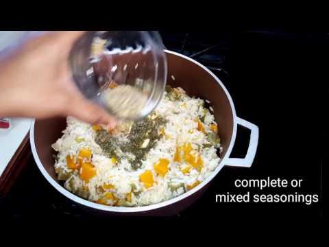 Pumpkin and Ochro Rice Recipe