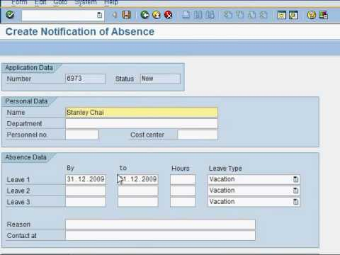 How to create an SAP workflow  - Test (Part 2 of 4)