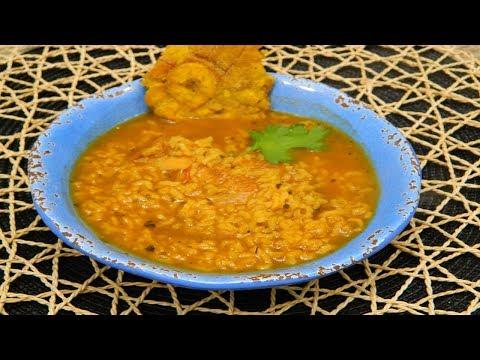 How to make Asopao de Pollo Boricua or Puertorican style Chicken Gumbo.