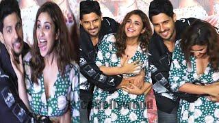 Parineeti Chopra Feel UNCOMF0RTABLE When Sidharth Malhotra Raised her on his lap | Jabariya Jodi