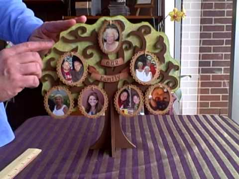 Beyond The Page - A MDF Family Tree by Kaisercraft