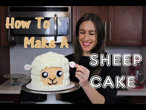 How To Make A Sheep Cake | CHELSWEETS