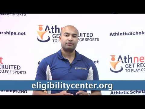 How do I get cleared by the NCAA eligibility center?