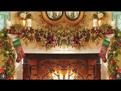 2017 Christmas Mantel Decorations Garland 4