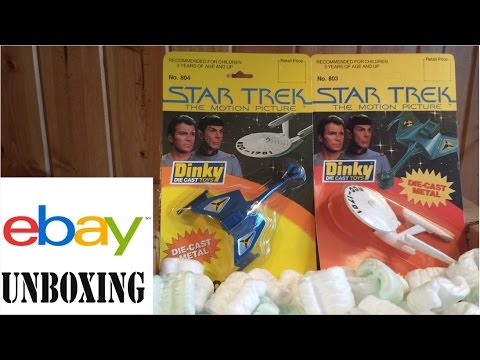 eBay Unboxing: 1979 Star Trek Enterprise