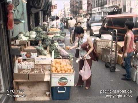 NYC Chinatown 1986 original footage.mpg