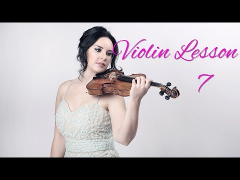 How to Play the VIOLIN - Lesson 7/20 - Learning the 2nd finger notes
