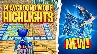 THE BEST *PLAYGROUND MODE* HIGHLIGHTS!! (Fortnite Battle Royale - Cizzorz Highlights #42)
