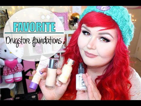 Favorite Drugstore Foundations | Pale Skin