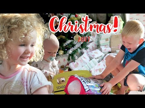 CHRISTMAS DAY!! | Our First Christmas with 3 kids!
