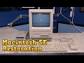 Macintosh SE Restoration and SD-2-SCSI upgrade
