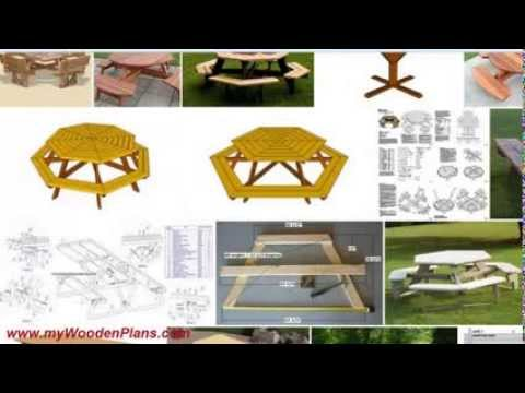 Get Amazing Picnic Table Plans Quickly