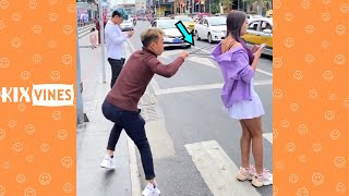 Funny videos 2020 ✦ Funny pranks try not to laugh challenge P151