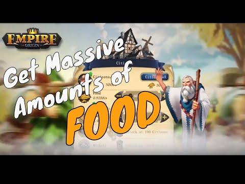 Empire: Origin - How to get more food