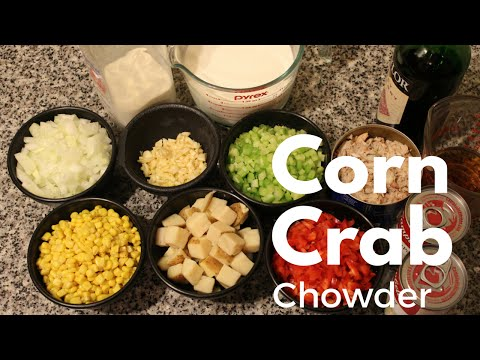 How to Make Corn and Crab Chowder