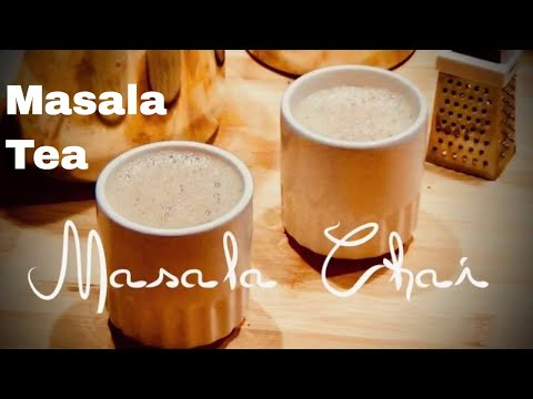 MASALA TEA | how to make Indian Masala CHAI (Spiced Tea) | RecipesAreSimple