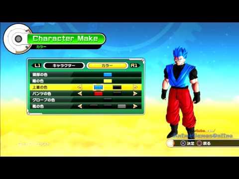 Dragon Ball Xenoverse Male Saiyan Character Creation (BETA)