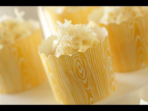 Beth's Banana Coconut Cupcake Recipe | ENTERTAINING WITH BETH