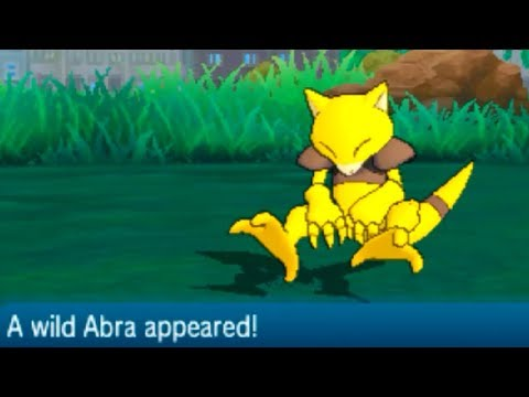 Pokemon Sun & Moon - How to Catch ABRA (Hau'oli City)