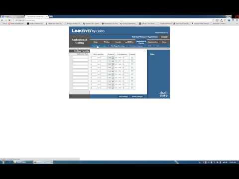 Linksys Port Forwarding: How to Port Forward
