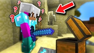 I AM SAND STONE! | Minecraft Skywars Trolling (I AM STONE CHALLENGE)