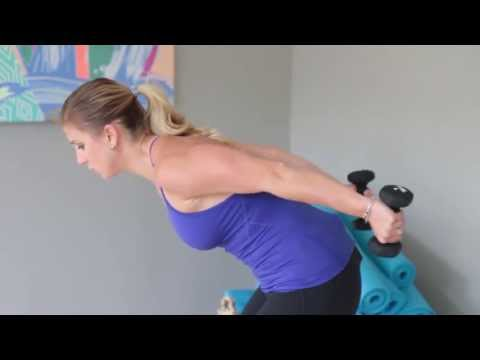 10 minute Arm Workout For Women With Weights | FIT