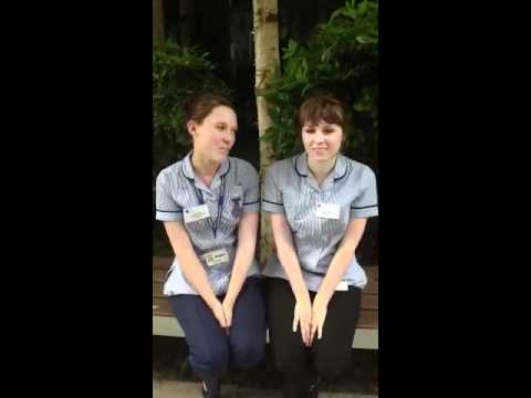 Liberty and Sophie talk about their midwifery course