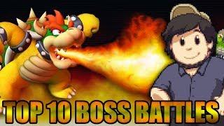 Top 10 Boss Battles - JonTron