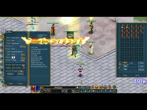 Conquer Online - How to reset and put attribute points correctly