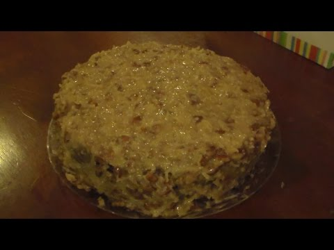 Cooking with Cricket-Coconut Pecan Frosting