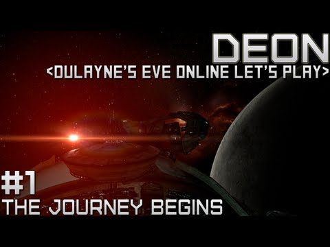 Lets Play EVE Online - Starting out (Tutorial Gameplay)