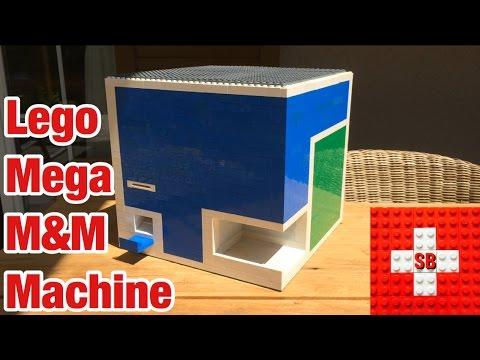 Lego Mega M&M Machine