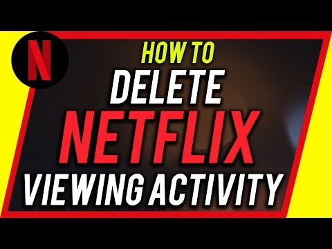 How to Delete Your NETFLIX history - Mobile or Computer