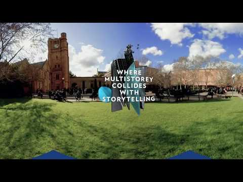 Experience our new Bachelor of Design in 360˚ (15sec)