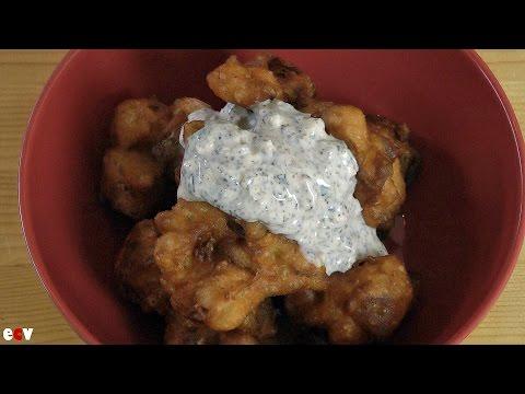 Easy Onion Bhaji Recipe + Mint Chutney Recipe