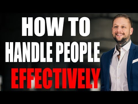 Communicating Effectively - How To Handle People Effectively