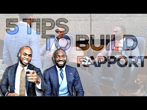 Rapport Building Techniques - 5 ways to build rapport