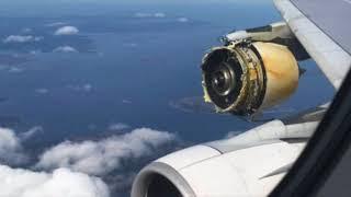 Air France Airbus A380 Catastrophic Engine Failure