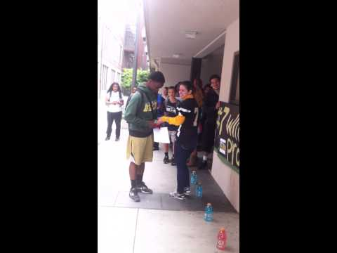 FOOTBALL PROM PROPOSAL 2014 (#7 Will You Tackle Prom With Me,