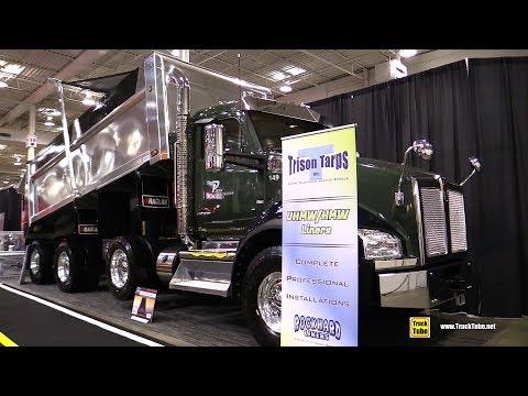 2018 Kenworth T880 Trison Tarps Equipped Truck - Walkaround - 2018 Truckworld Toronto