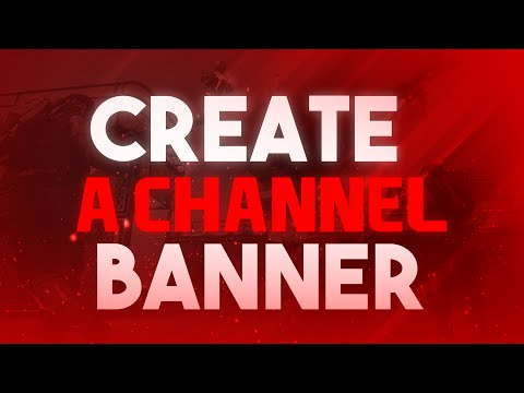 How to Make a YouTube Banner in Photoshop CS6/CC! Channel Art Tutorial! (2015/2016)