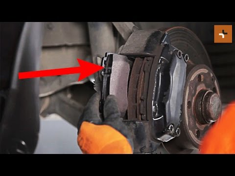 How to change a front brake pads MERCEDES-BENZ S W220 TUTORIAL | AUTODOC