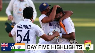 India claim stunning series win, end Australia