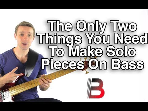 How To Make Solo Bass Pieces By Using Just Two Essential Elements