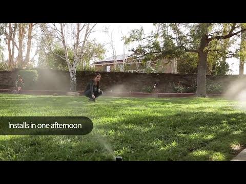 Rain Bird Easy To Install Automatic Sprinkler System