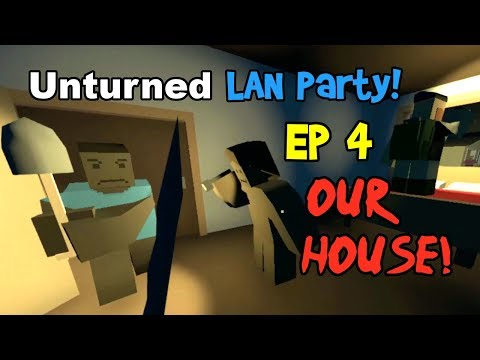 OUR HOUSE! Unturned Multiplayer Gameplay Ep 4! (Funny Moments & Fails, Washington Survival)