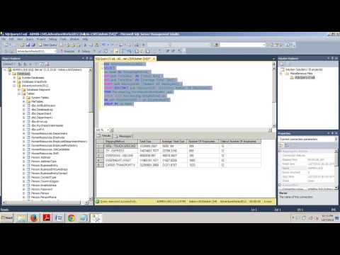 SQL Server tutorial 47: Performing Aggregations with Groupings.